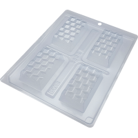 Forma Silicone Tablete Mini 3D cod.9904