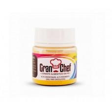 Corante em Pó Lipossolúvel Gran Chef para Chocolate - Amarelo - 5g