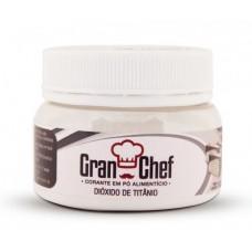 Corante em Pó Dióxido de Titânio Gran Chef 100g